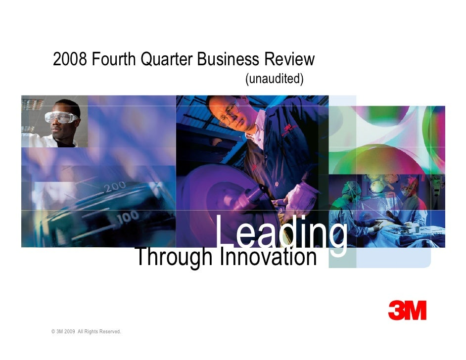 2008 Fourth Quarter Business Review                                           (unaudited)                                 ...