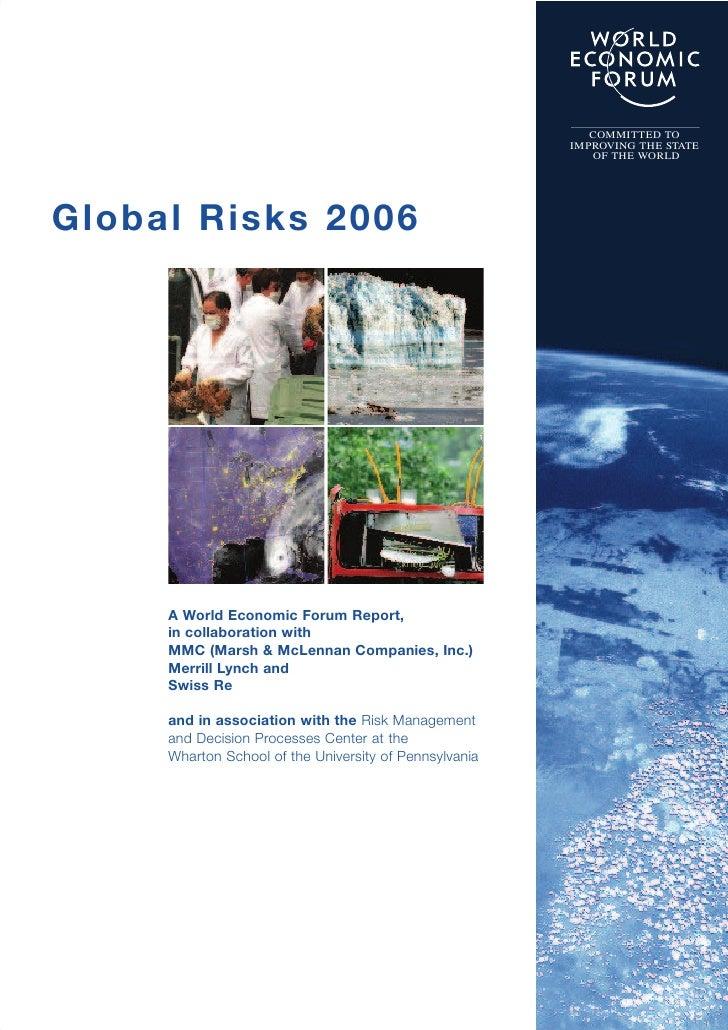 Global Risk Report 2006