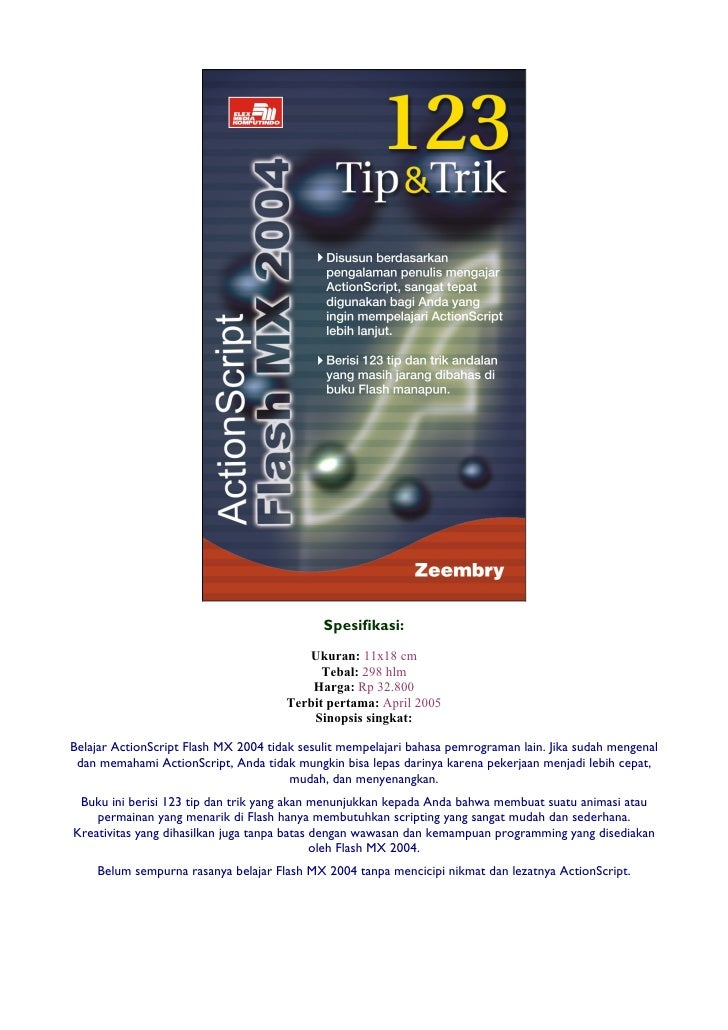 123 Tip & Trik ActionScript Flash MX 2004