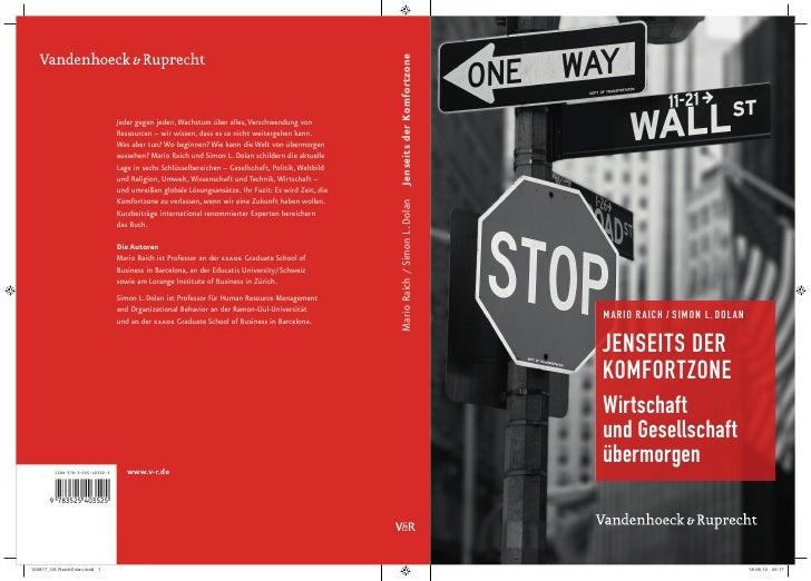 Raich Dolan, Jenseits der Komfortzone, Leseprobe ISBN 978-3-525-40352-5