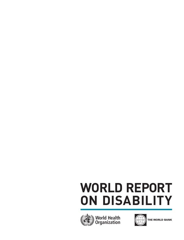 WORLD REPORTON DISABILITY