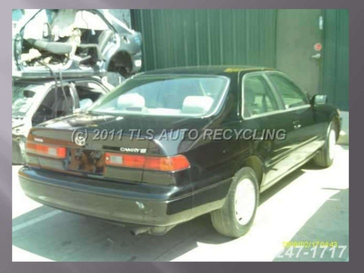 97 toyota camry car used  parts only