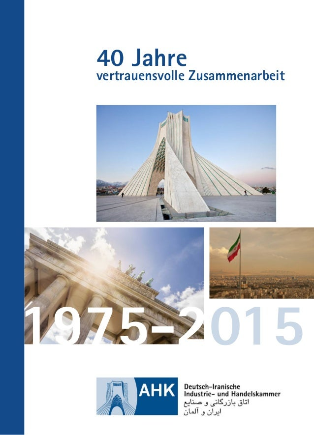 40 Jahre vertrauensvolle Zusammenarbeit 1975-2015