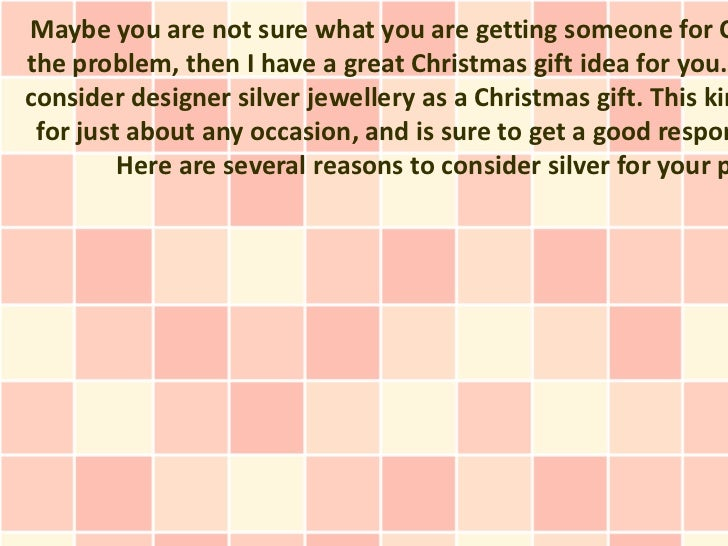 Designer Silver Jewelry Can Make The Perfect Gift