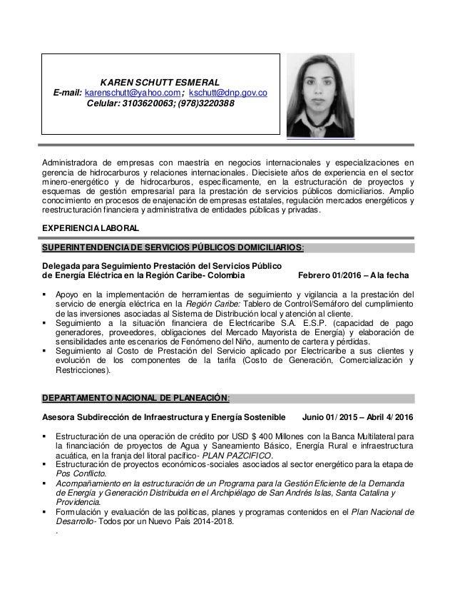Administradora de empresas con maestría en negocios internacionales y especializaciones en gerencia de hidrocarburos y rel...