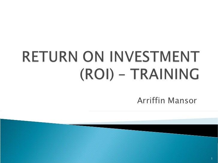 ROI training 98