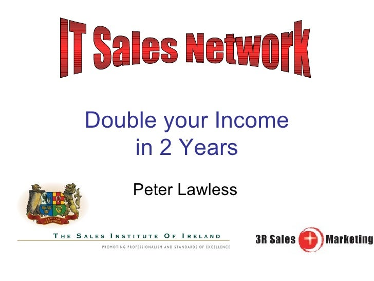 Double Your Income in 2 Years