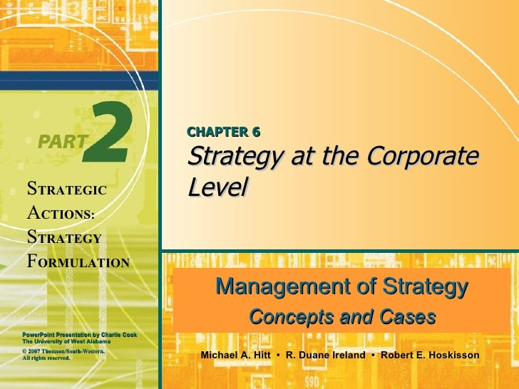 CHAPTER 6 Strategy at the Corporate Level