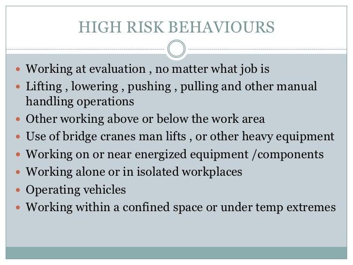 Overhead Crane Jha : Conducting a job hazard analysis