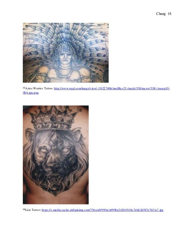 The Hidden Meanings Behind 11 Prison Tattoos