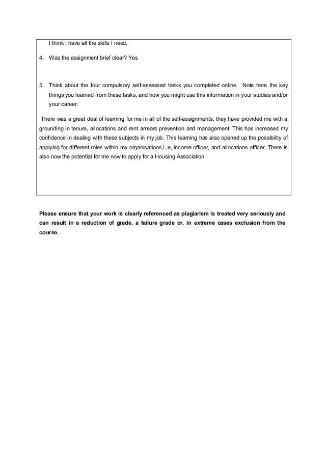 Assignment of tenancy