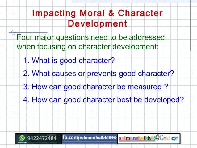 28 moral values for Moral development 0 19