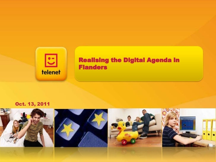 Realising the Digital Agenda in Flanders<br />Oct. 13, 2011<br />