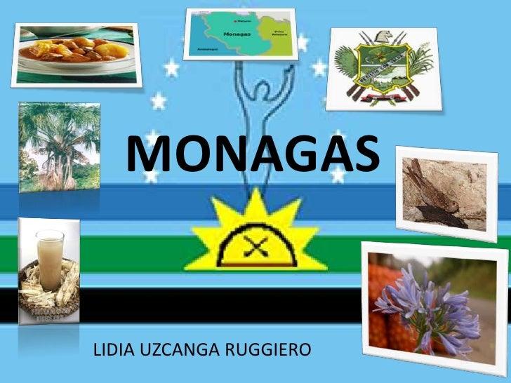 MONAGAS<br />LIDIA UZCANGA RUGGIERO <br />