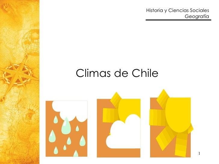 9 Climas En Chile