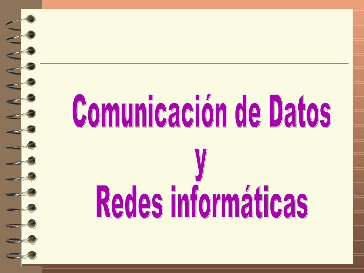 9. Comunicaciony Redes