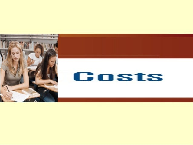 In This Lecture…  Concepts of Costs: Economic Costs, Accounting Costs, Sunk Costs  Short-run and Long-run Costs: Total, ...