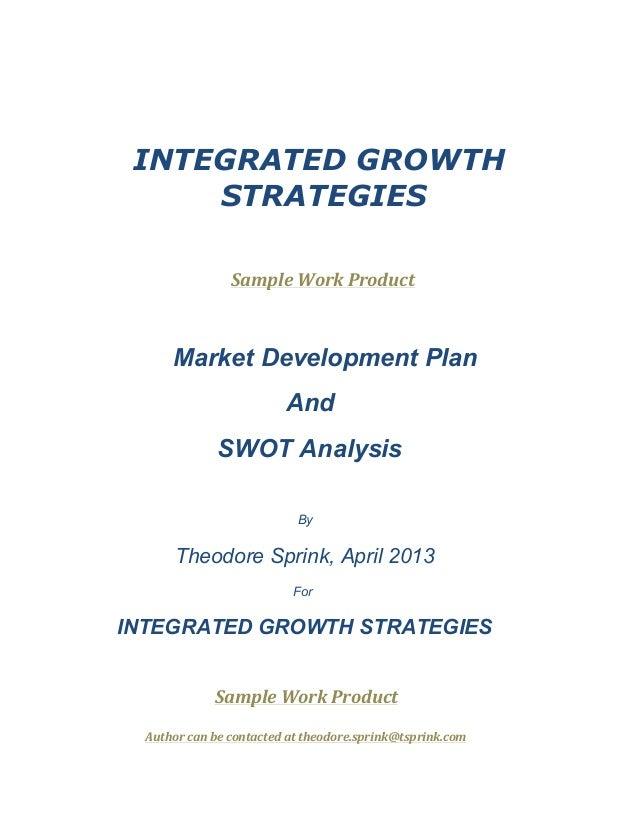 Sample marketing plan for franchise business