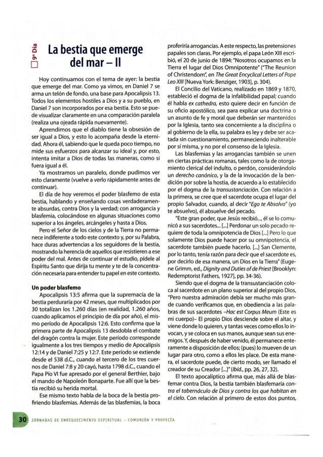 LA BESTIA QUE EMERGE DEL MAR - II