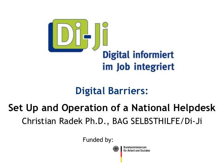 9 digital barriers