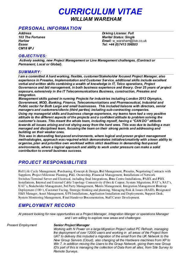 professional cv writing service essex