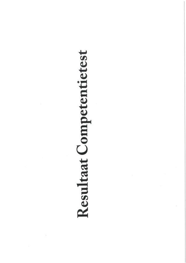 competentietest