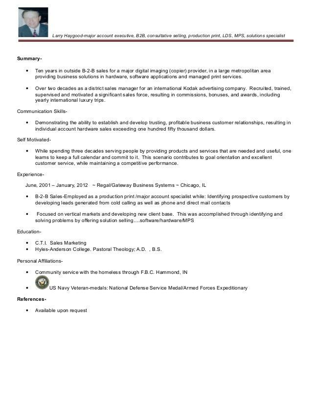 Print sales resume samples