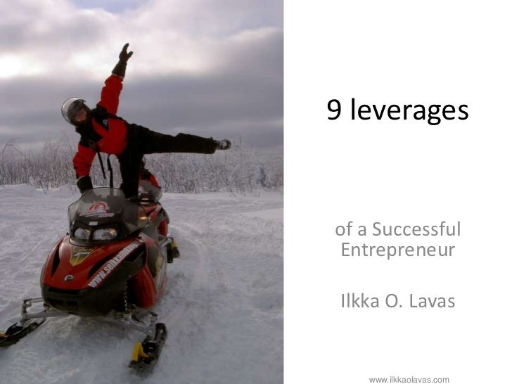 9 leverages                                                                       of a Successful                         ...