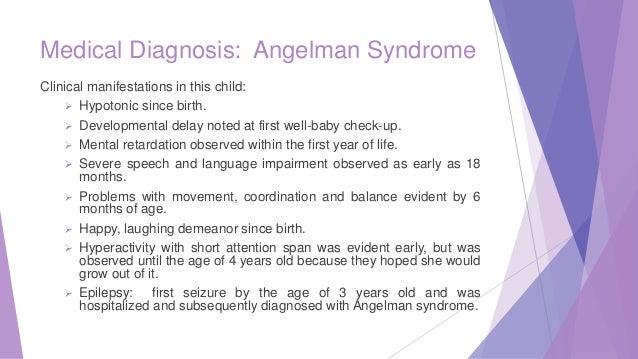 a description of the angelman syndrome by ciara carr