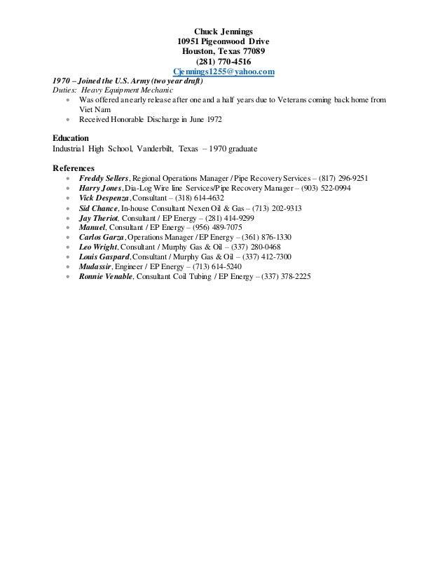 chuck jennings resume 7 30 2015 new resume