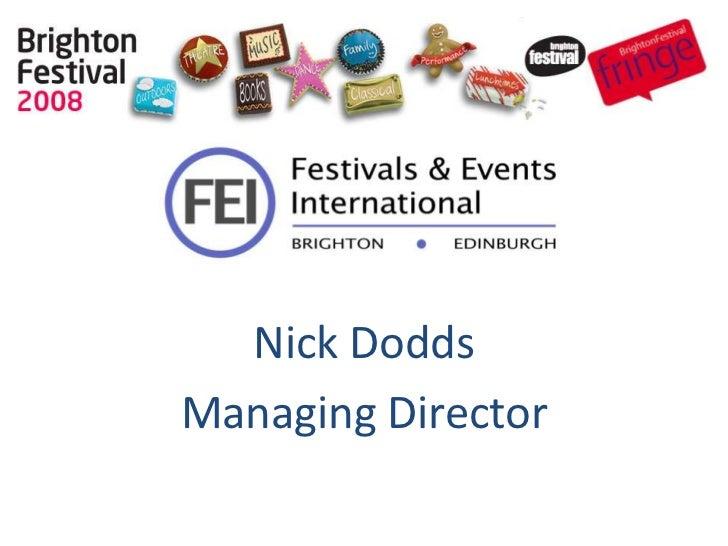 Nick DoddsManaging Director