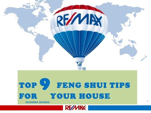 TOP FOR  9  SAGARIKA SAHANA  FENG SHUI TIPS YOUR HOUSE  1