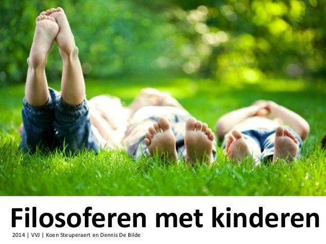 sessie 9 ppt filosoferen met kinderen