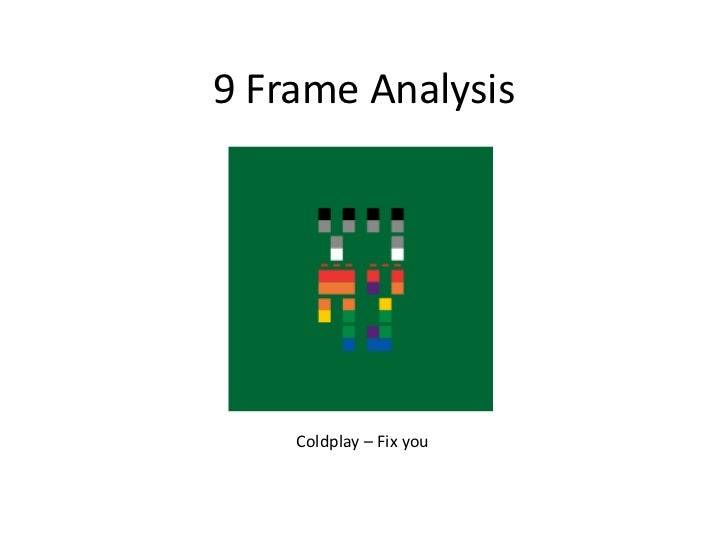 9 Frame Analysis    Coldplay – Fix you