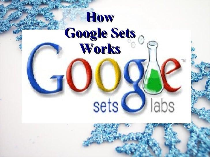 How Google Sets Works