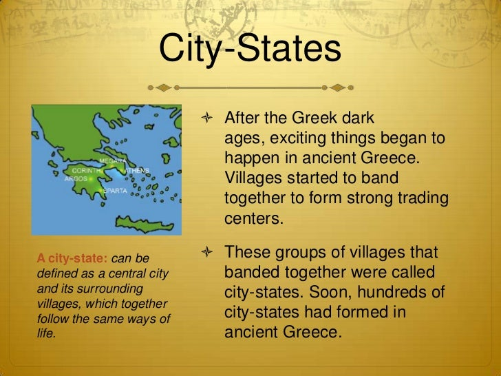 City state pictures greek city states
