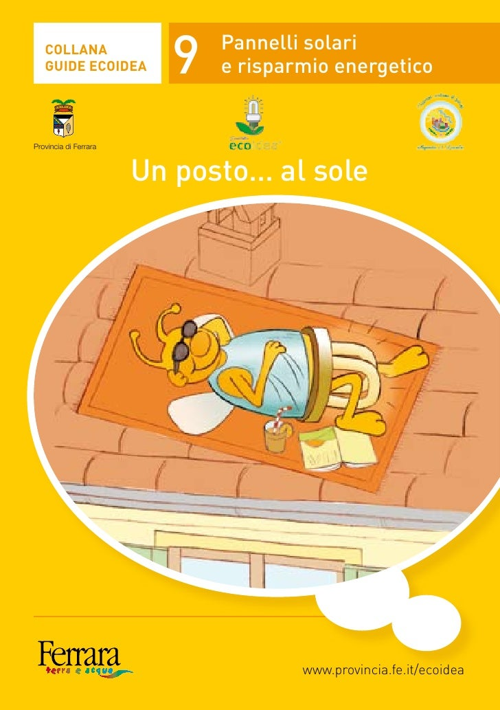 Guida Ecoidea 9 - Pannelli solari e risparmio energetico