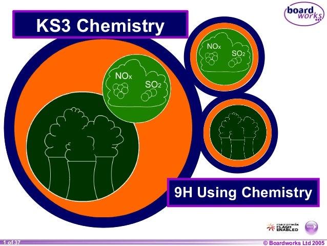© Boardworks Ltd 20041 of 20 © Boardworks Ltd 20051 of 37 KS3 Chemistry 9H Using Chemistry