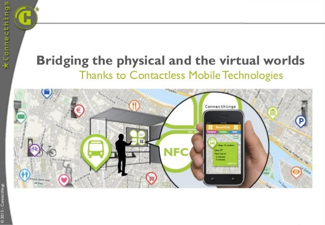 Bridging the physical and the virtual worlds                               Thanks to Contactless Mobile Technologies© 2013...