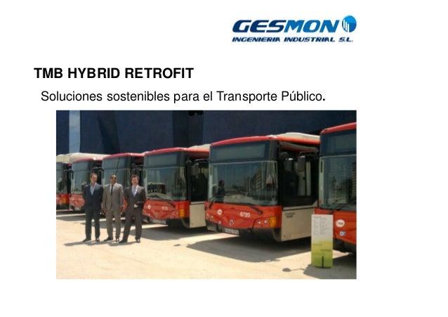 Transformació d'autobusos convencionals a híbrids