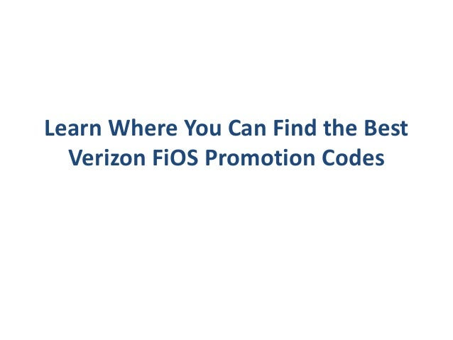 Verizon Fios promotion codes are offered by the broadband powerhouse unlike the promotions any other broadband service provider officially publishes. From flat out monthly promotional discounts to getting prepaid reward cards worth hundreds of dollars, the company is really aggressive with promotional offers.