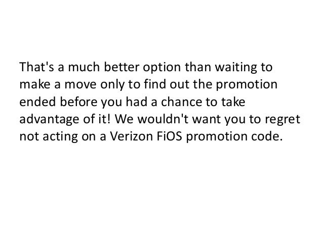 Learn Where You Can Find The Best Verizon Fios Promotion Codes