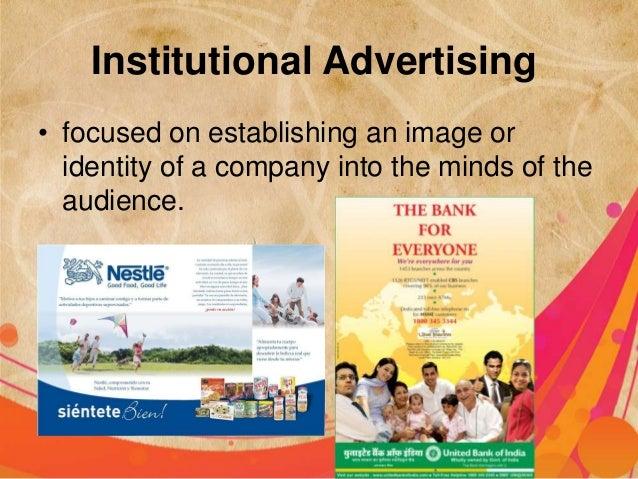 Institutional Advertising Examples Institutional Advertising