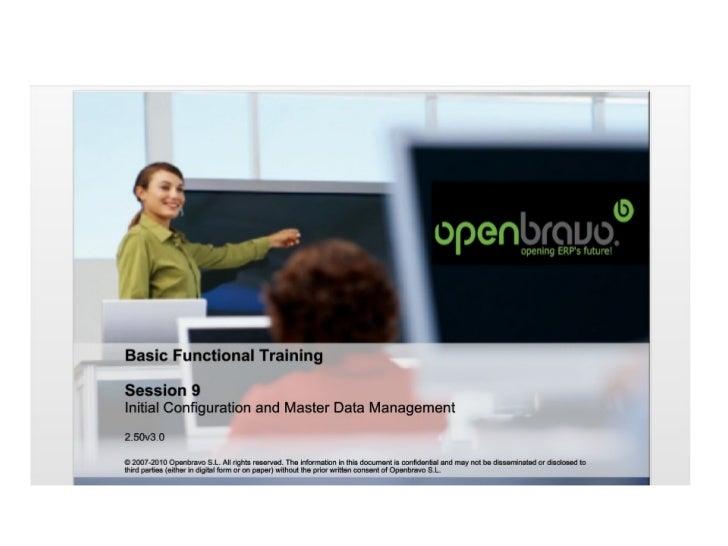 9 master data managemennt