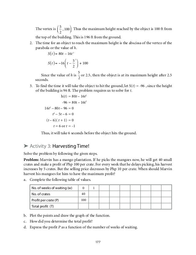 Math worksheets for grade 10 applied