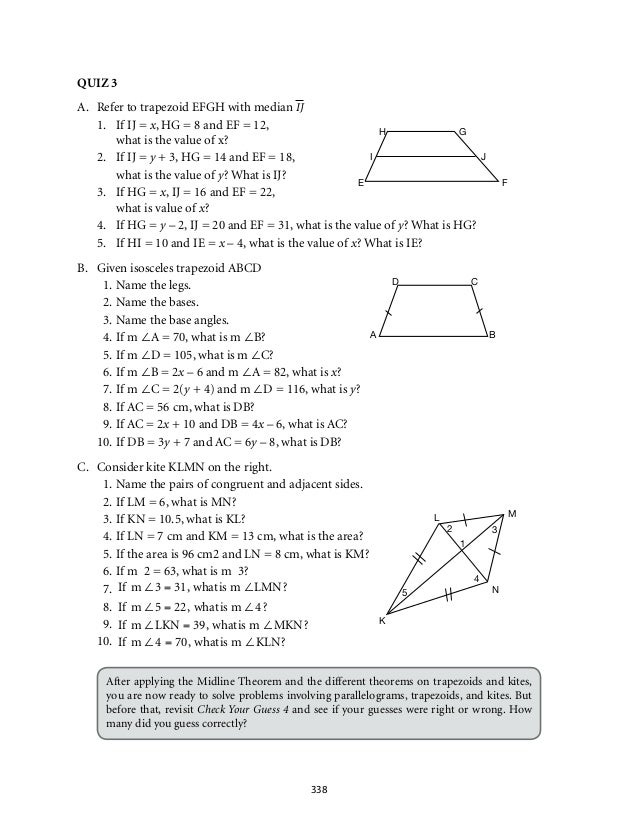 grade 9 mathematics module 5 quadrilaterals lm. Black Bedroom Furniture Sets. Home Design Ideas