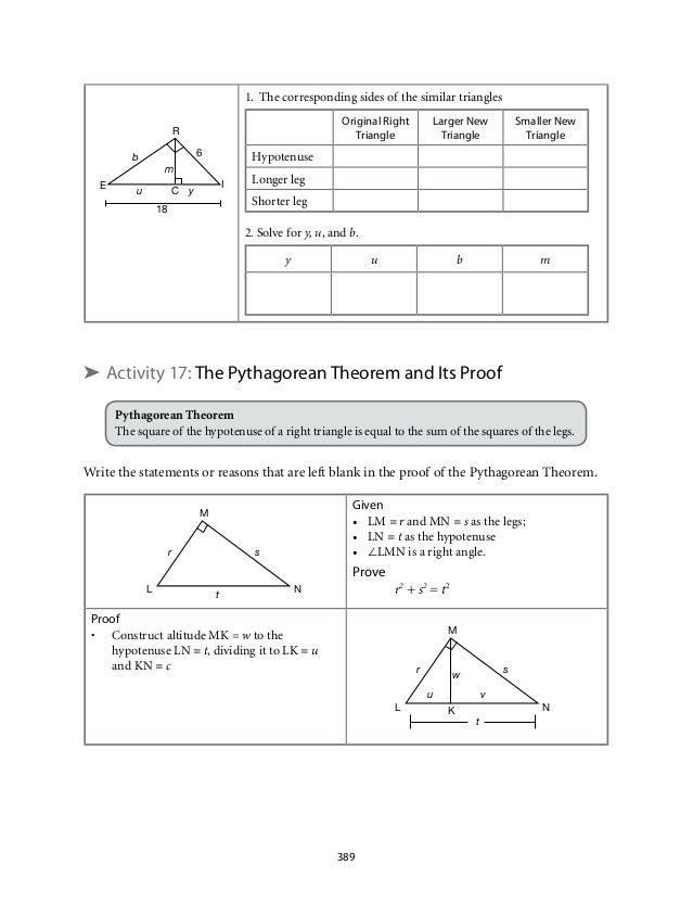 7 3 proving triangles similar form g worksheet answers grade 9 mathematics module 6. Black Bedroom Furniture Sets. Home Design Ideas