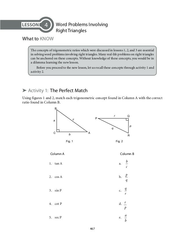 Trigonometry Applications Worksheet Versaldobip – Math Worksheets Trigonometry
