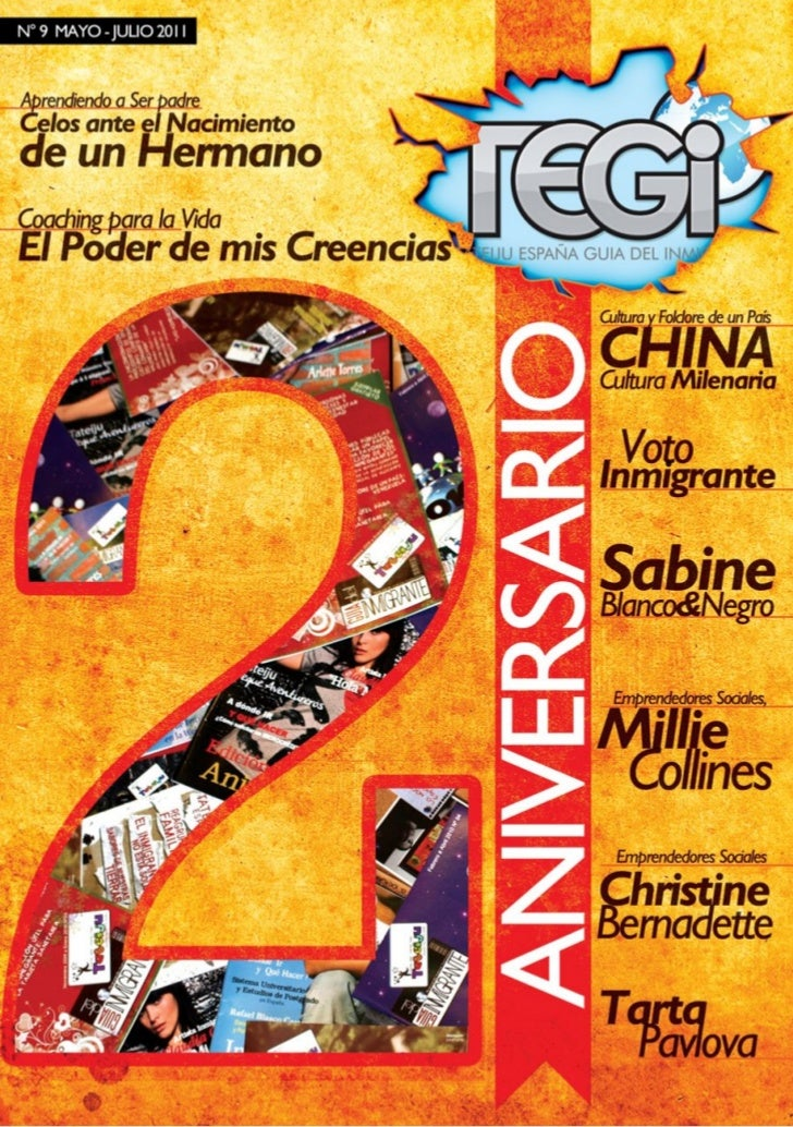 9no numero Revista TEGI 2do Aniversario