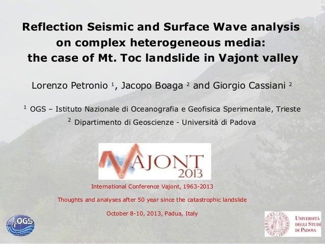 9oct 1 petronio-reflection seismic